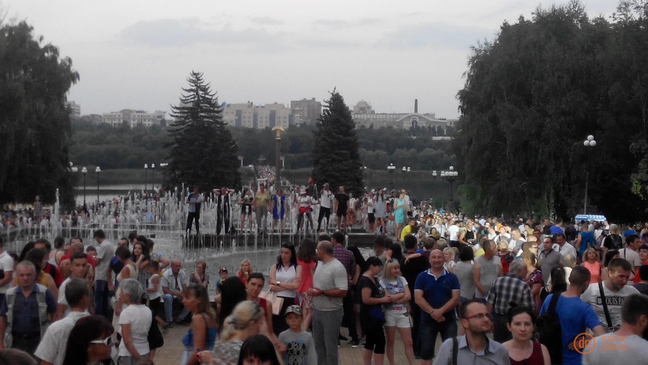 Олег Газманов приехал вЛуганск сконцертом