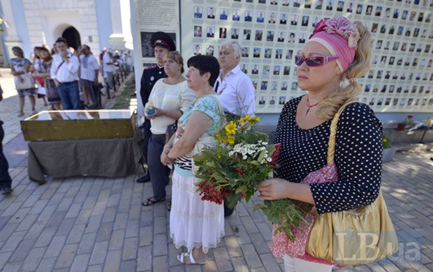 ВИвано-Франковске почтили память жертв Иловайской трагедии