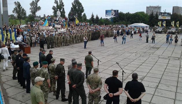 Гражданский корпус «Азов» создал партию «Национальный корпус»