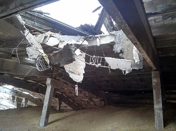 В итоге артудара вНовобахмутовке разрушен сельскохозяйственный комплекс