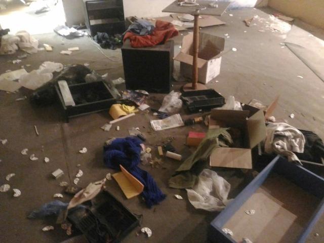 Появились фото погрома питерского «музея Новороссии»