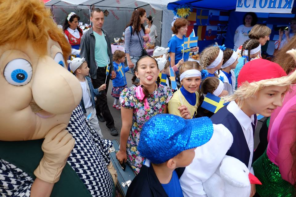 ВДонецкой области отпраздновали День Европы