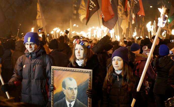 МВД: Акции вчесть Степана Бандеры вгосударстве Украина  прошли без инцидентов