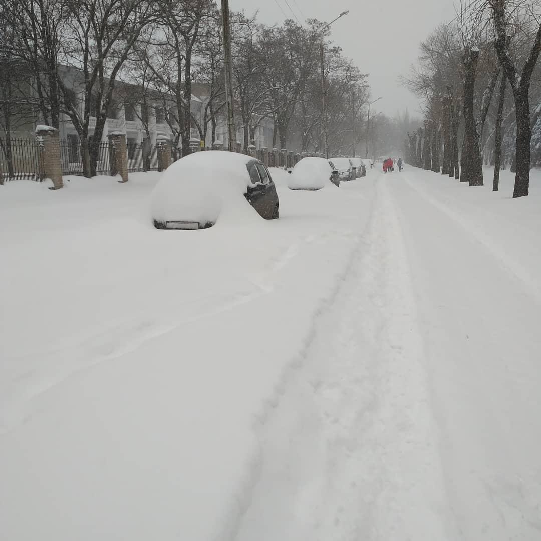 ВДонецкой области запретили движение фургонов — Непогода вУкраинском государстве