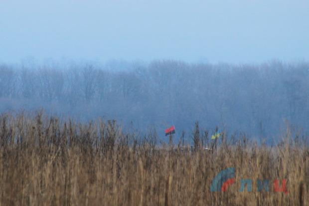 ВСУ обстреляли изартиллерии территорию ЛНР врайоне Вергулевки— Донбасс