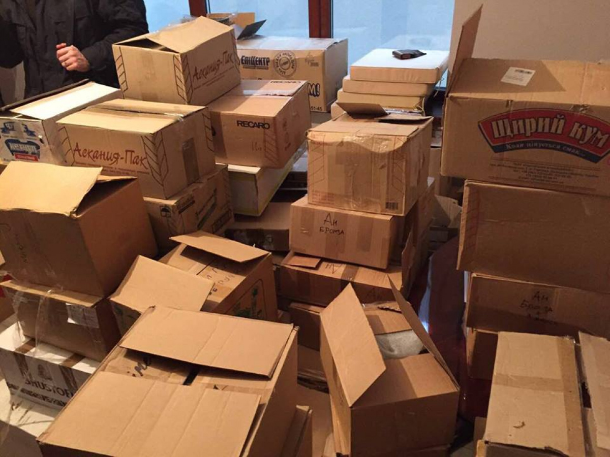 Правоохранители разоблачили крупный канал поставки продуктов питания в«ДНР/ЛНР»