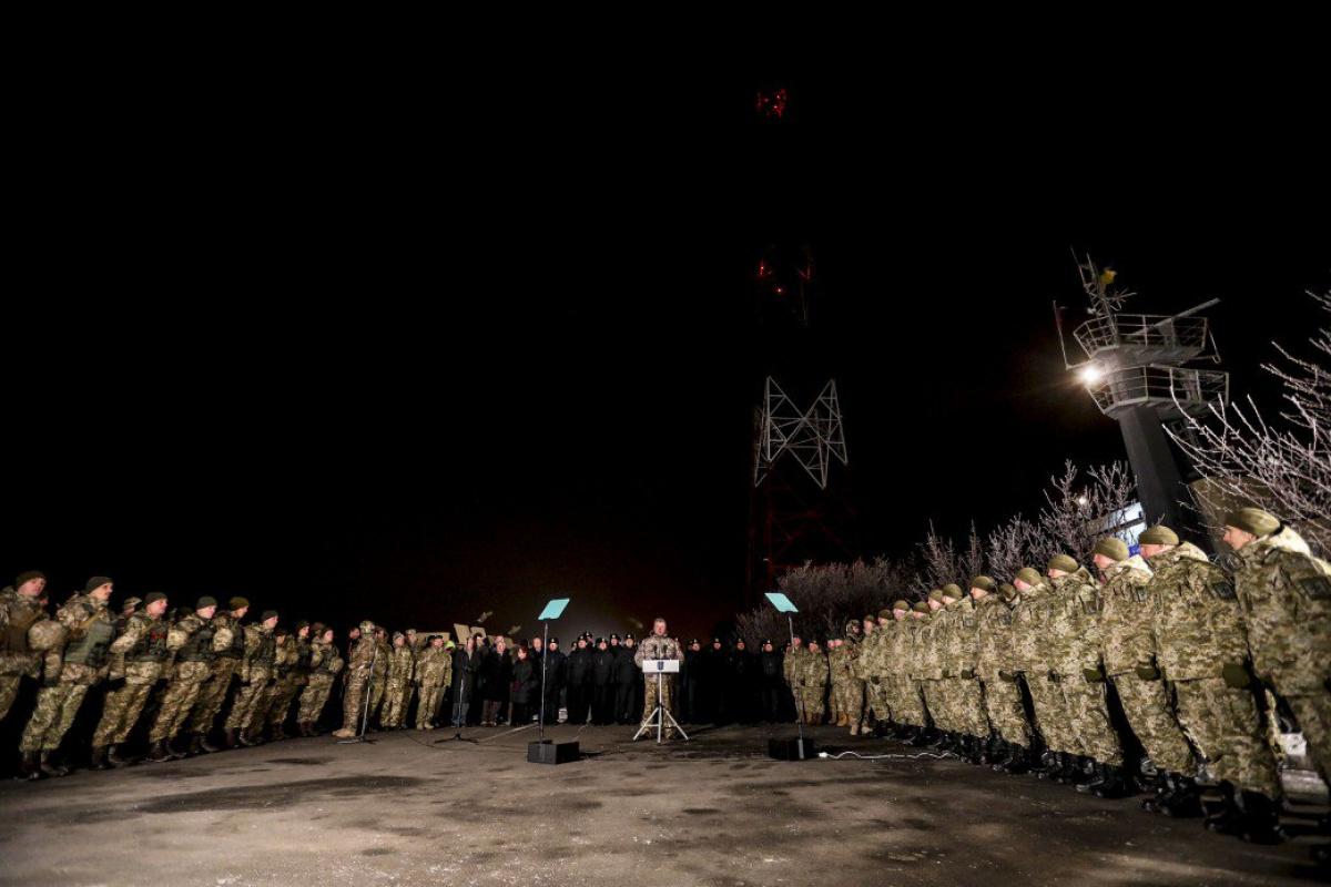 Порошенко объявил вМариуполе о«временной украинской оккупации»— Оговорка поФрейду