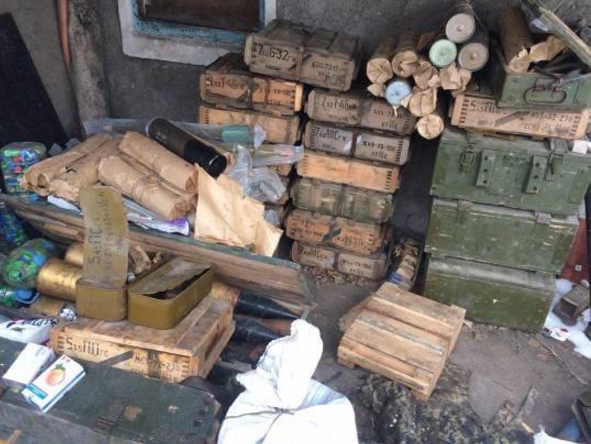 ВОдесской области силовики обнаружили тайник сбоеприпасами