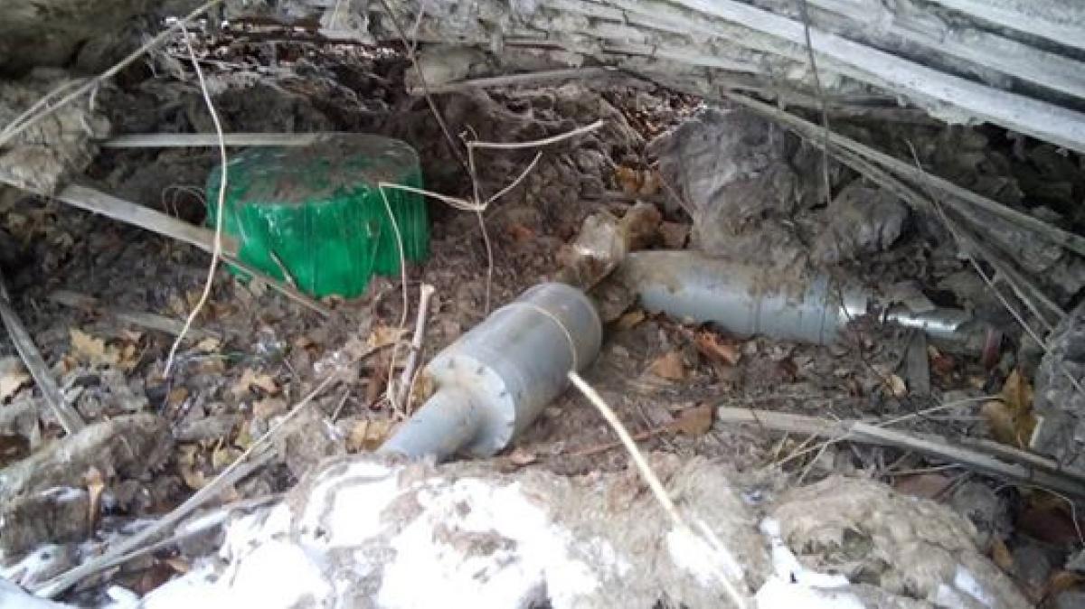 Саперы обнаружили под водопроводом «Северский Донец Донбасс» три взрывных устройства штаб АТО