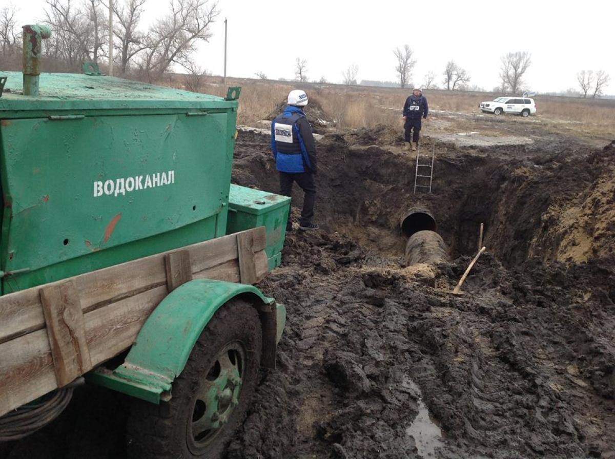 В Луганской области около 250 тысяч человек остались без воды, - ОБСЕ