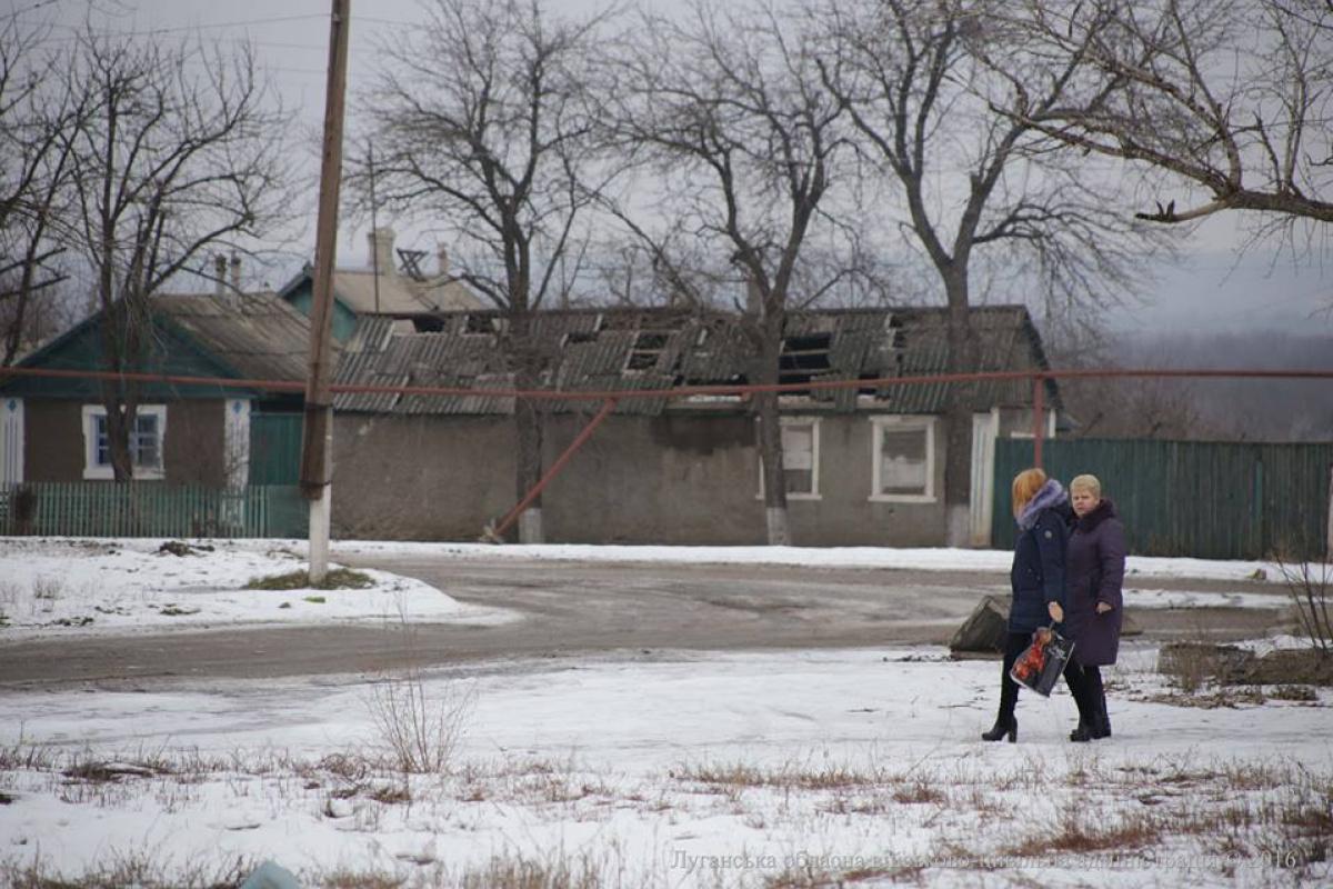 Из прифронтового Крымского можно будет выехать только на автомобилях спасателей