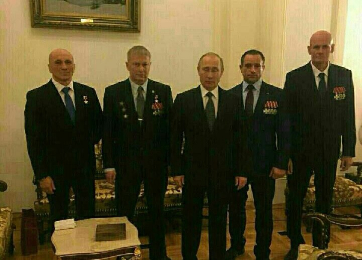 Русский наемник «Вагнер» награжден четырьмя орденами Мужества