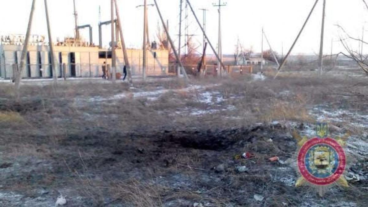 Обстрелы наДонбассе оставили 7 населенных пунктов без электричества