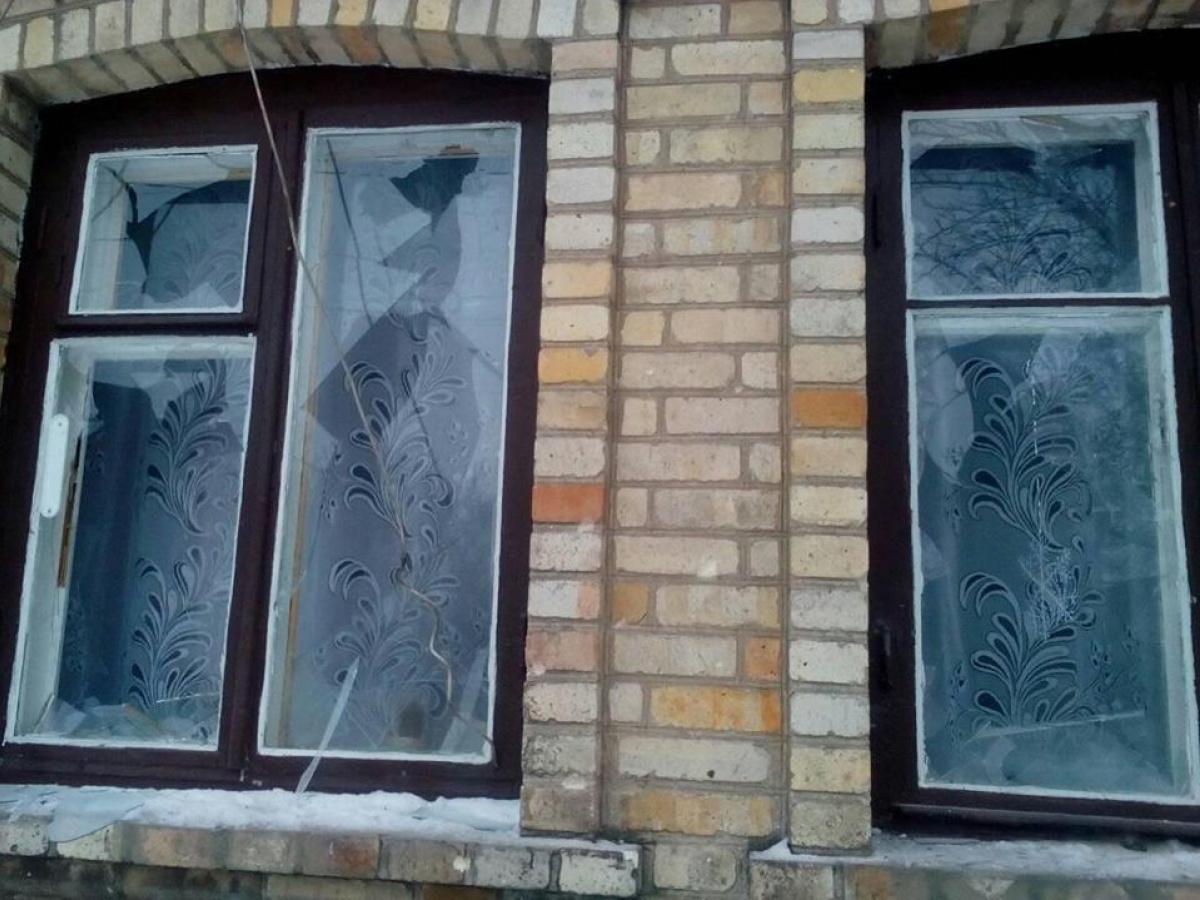 Ночью Красногоровку боевики обстреливали из«Градов»— очень много повреждений