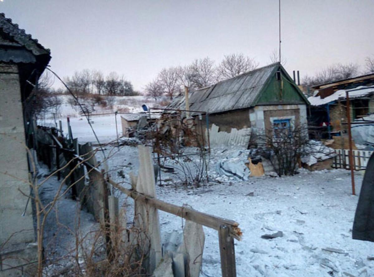 Боевики обстреляли жилой сектор Авдеевки, есть погибший