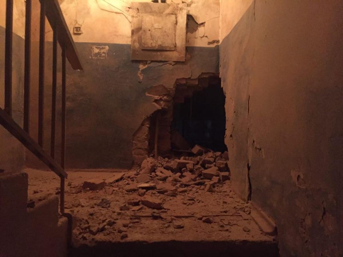 Многоквартирный дом вАвдеевке, куда попал снаряд, может обрушиться