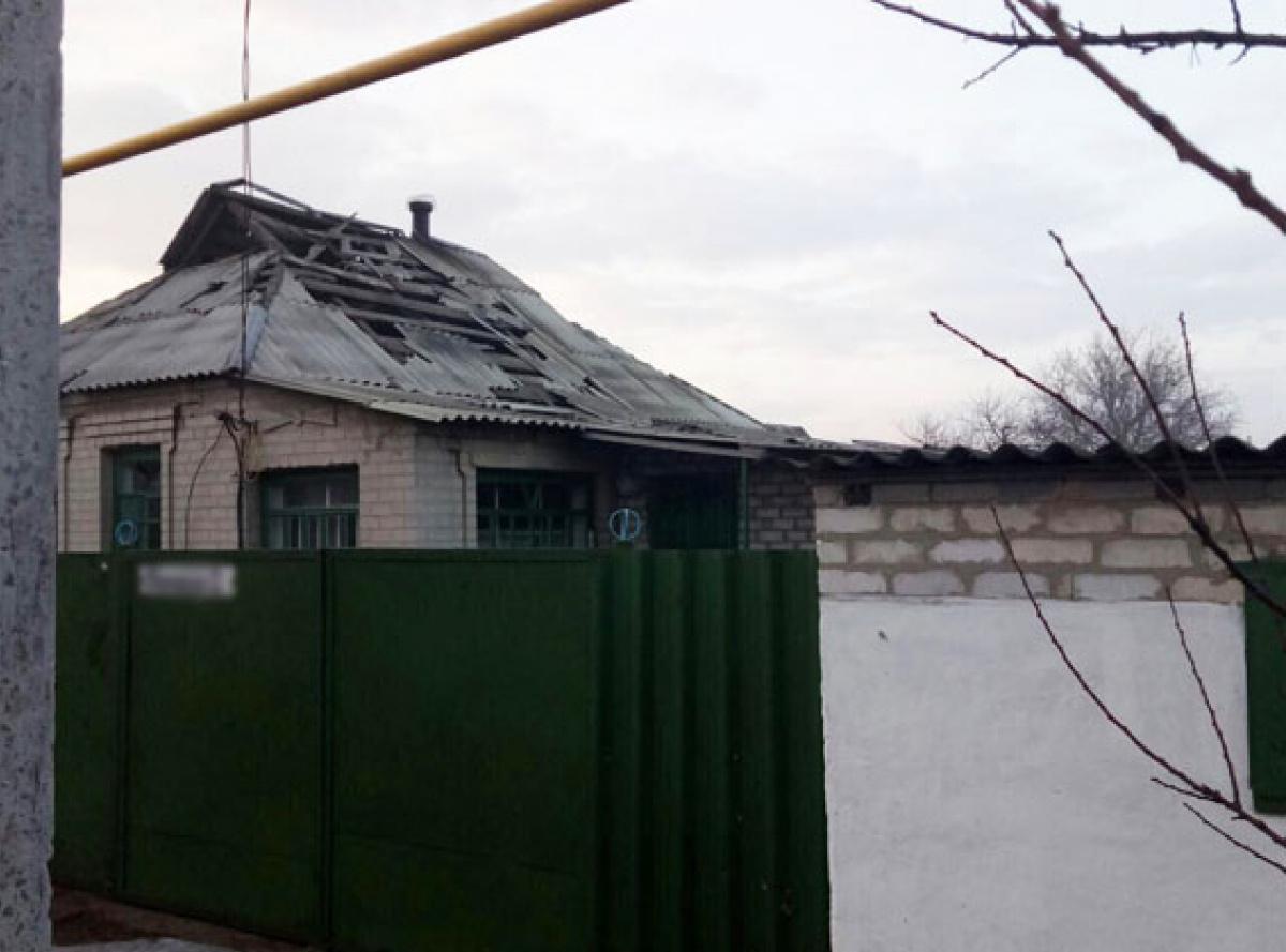 ВАвдеевке впроцессе обстрелов были повреждены 10 домов