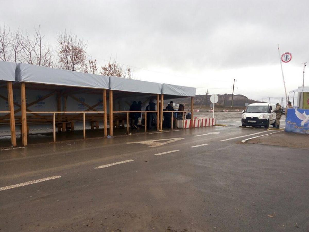 ООН сказала украинским пограничникам технику для КПП вДонбассе