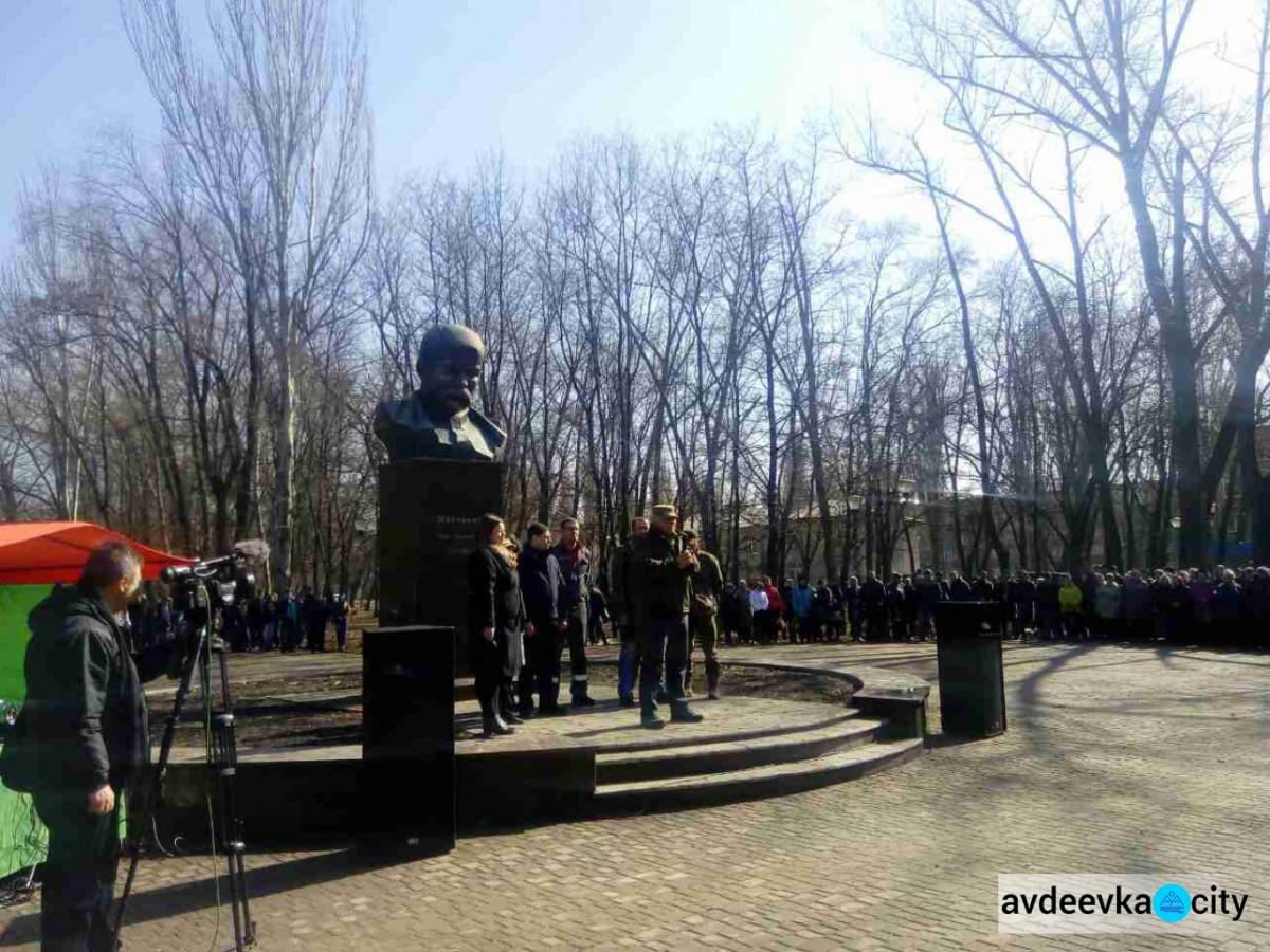ВКраматорске прошел митинг против торговой блокады захваченных территорий Донбасса