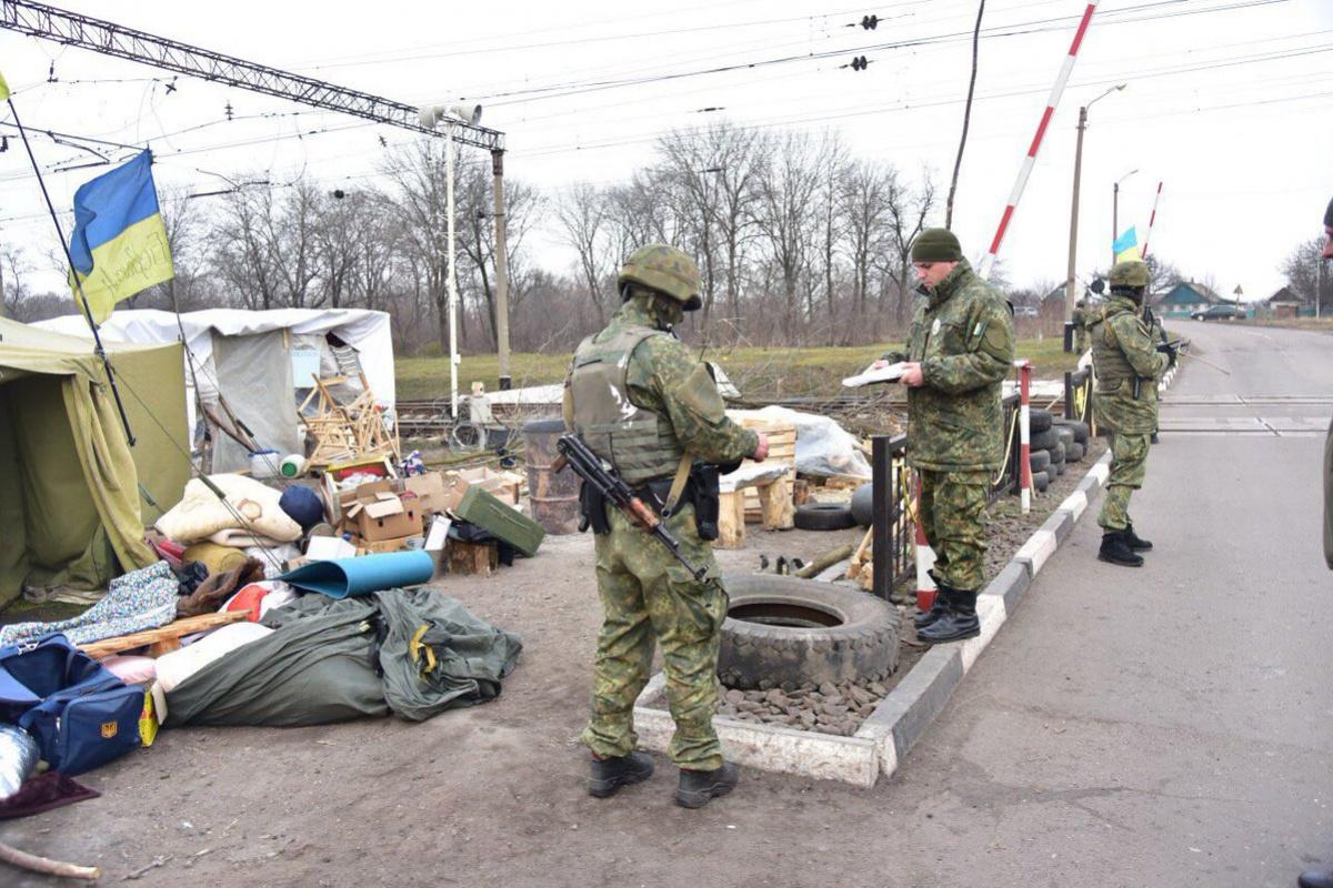 УАвакова показали оружие, изъятое вКривом Торце— Блокада Донбасса