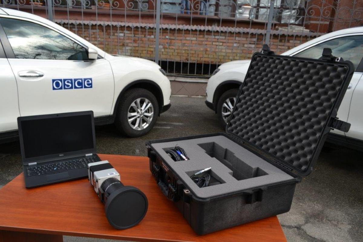 Германия проинформировала ОБСЕ вУкраинском государстве камеры наблюдения