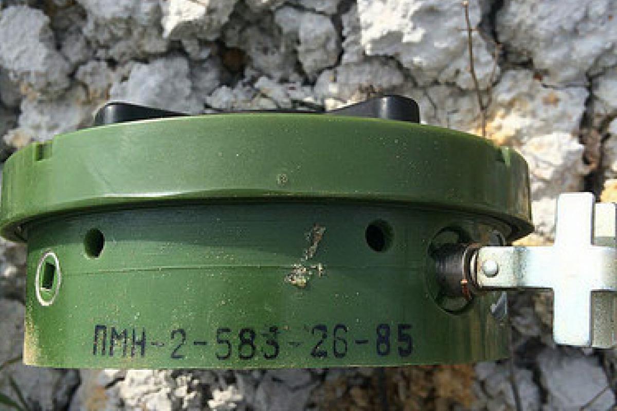СБУ нашла наДонбассе боеприпасы, приобретенные боевиками из Российской Федерации