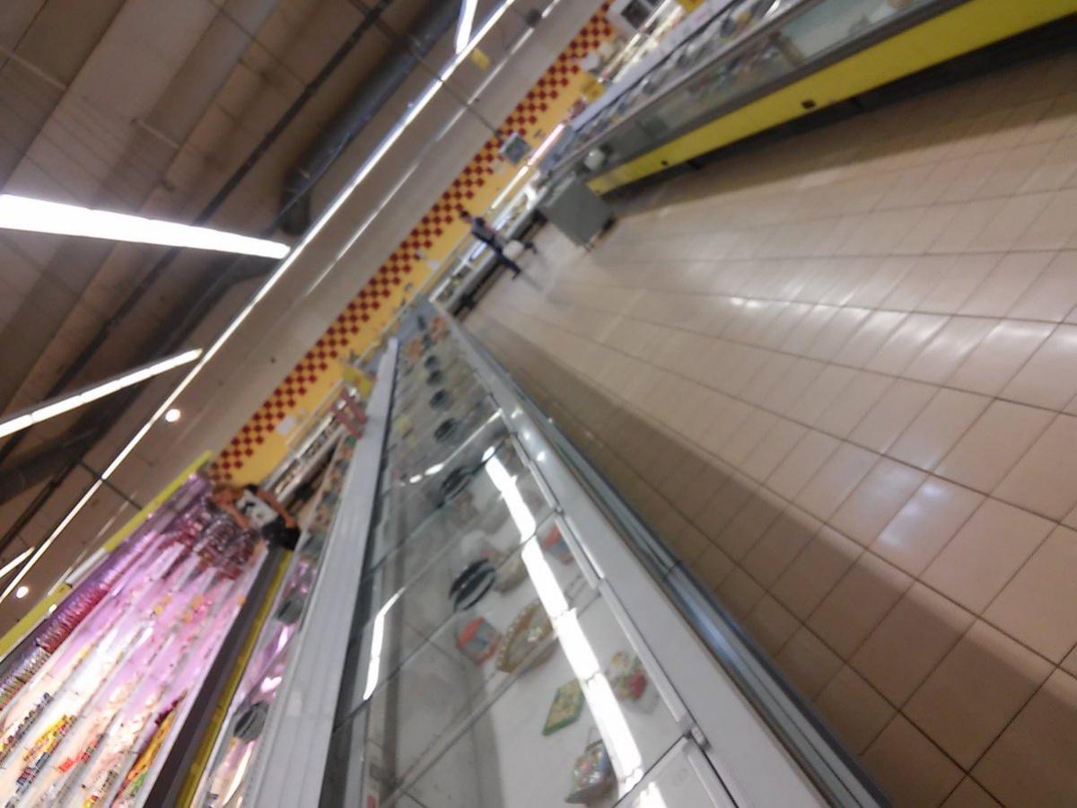 В донецких магазинах «Амстора» заканчиваются продукты