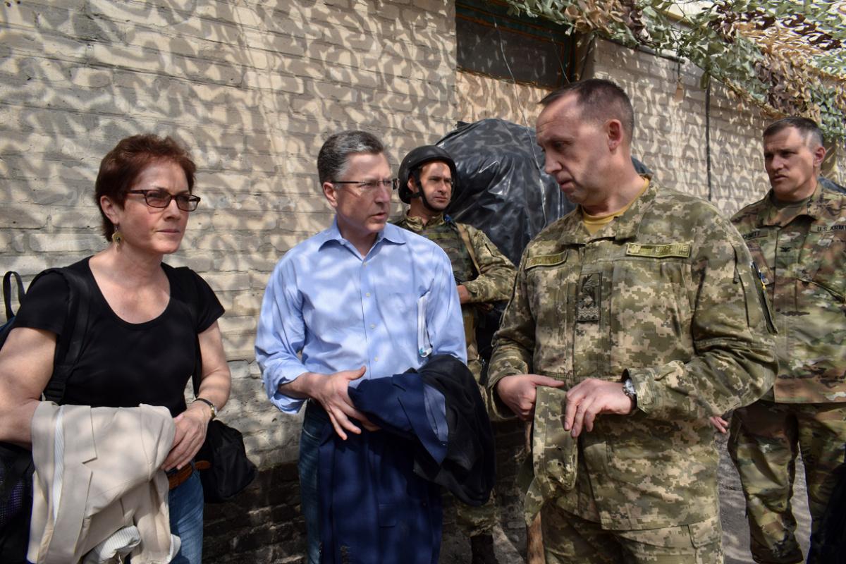 Спецпредставитель США поУкраине посетит Донбасс
