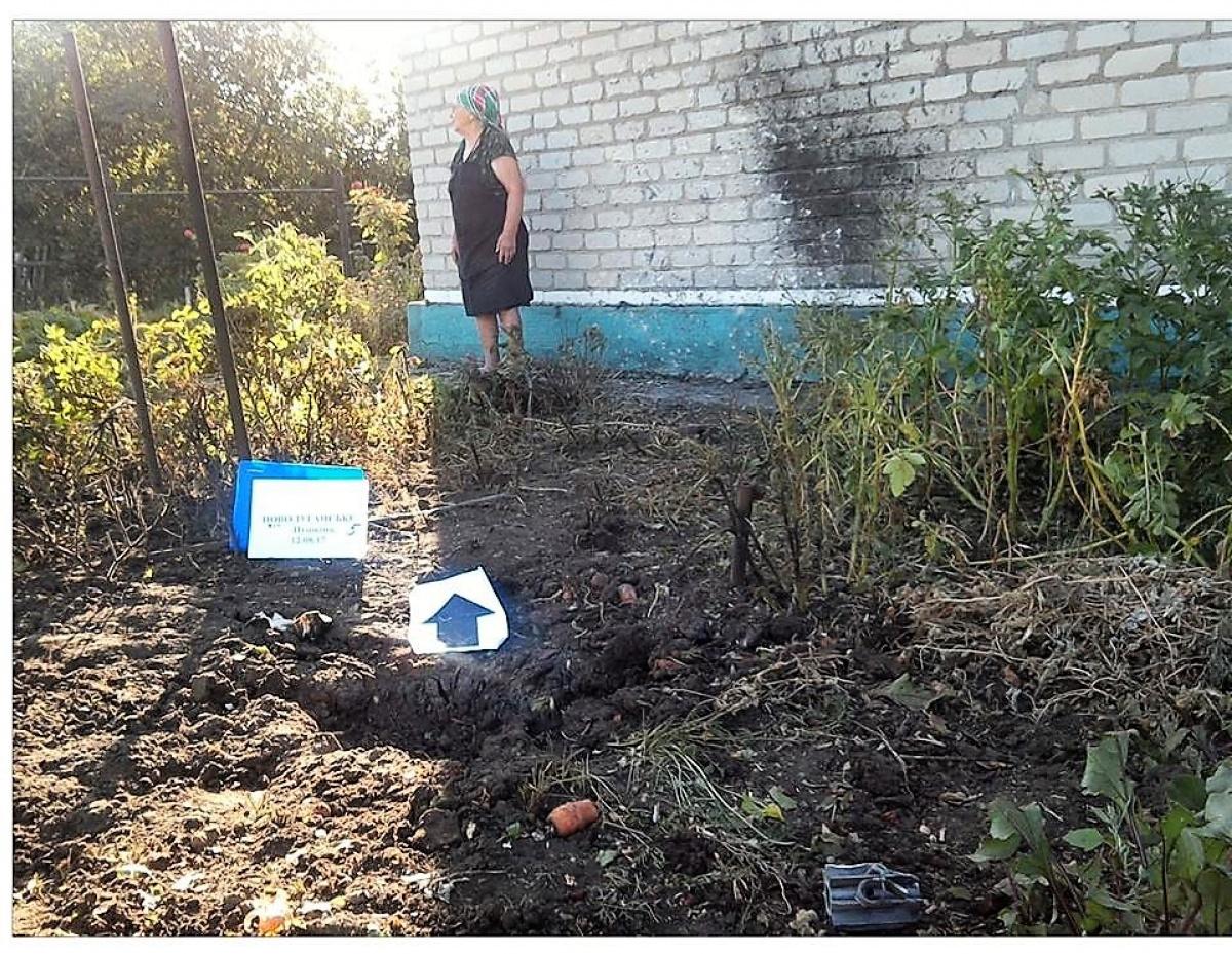 Боевики обстреляли жилые кварталы поселка вблизи Светлодарска
