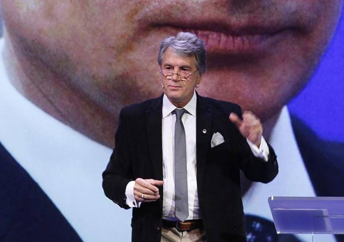 Ющенко разъяснил, почему Донбасс стал целью В.Путина