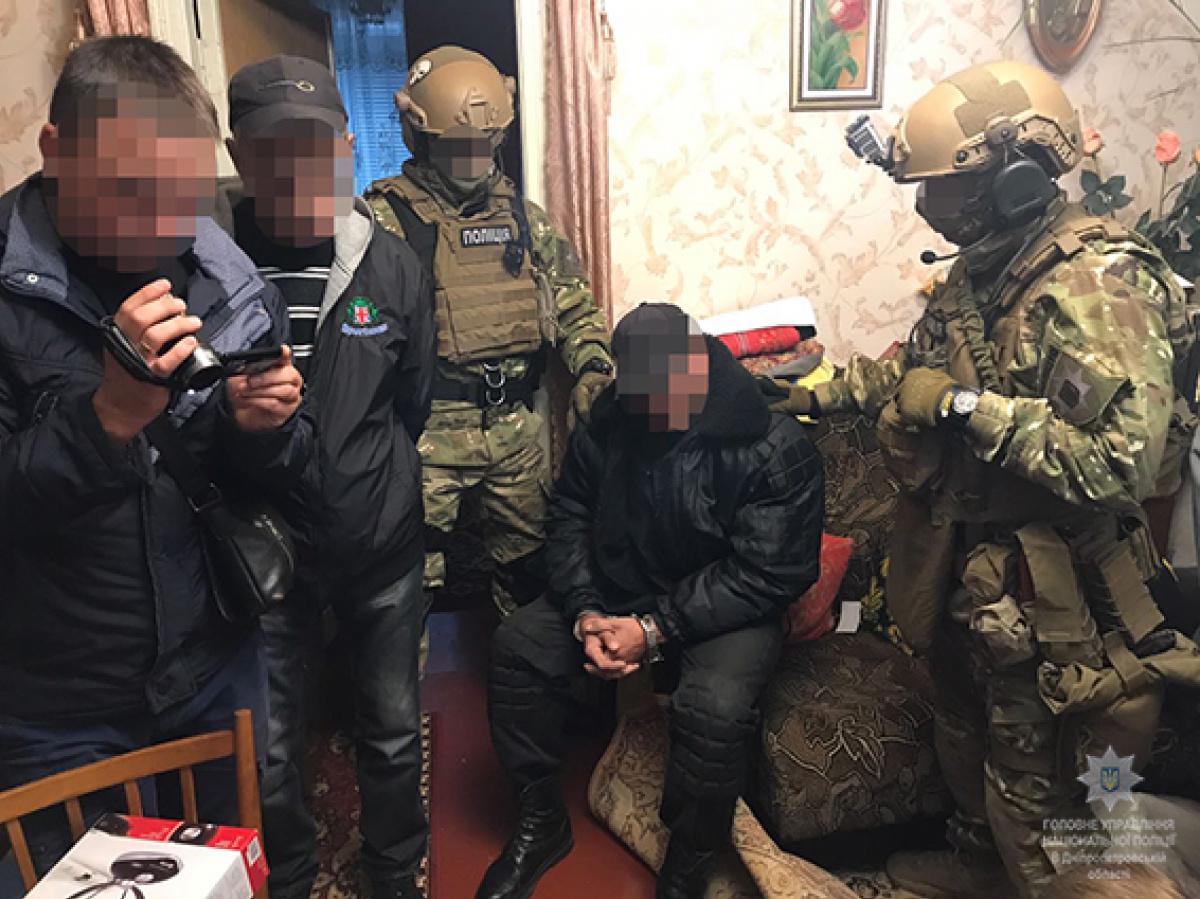 НаДнепропетровщине милиция выявила адепта «ДНР» с резервом оружия