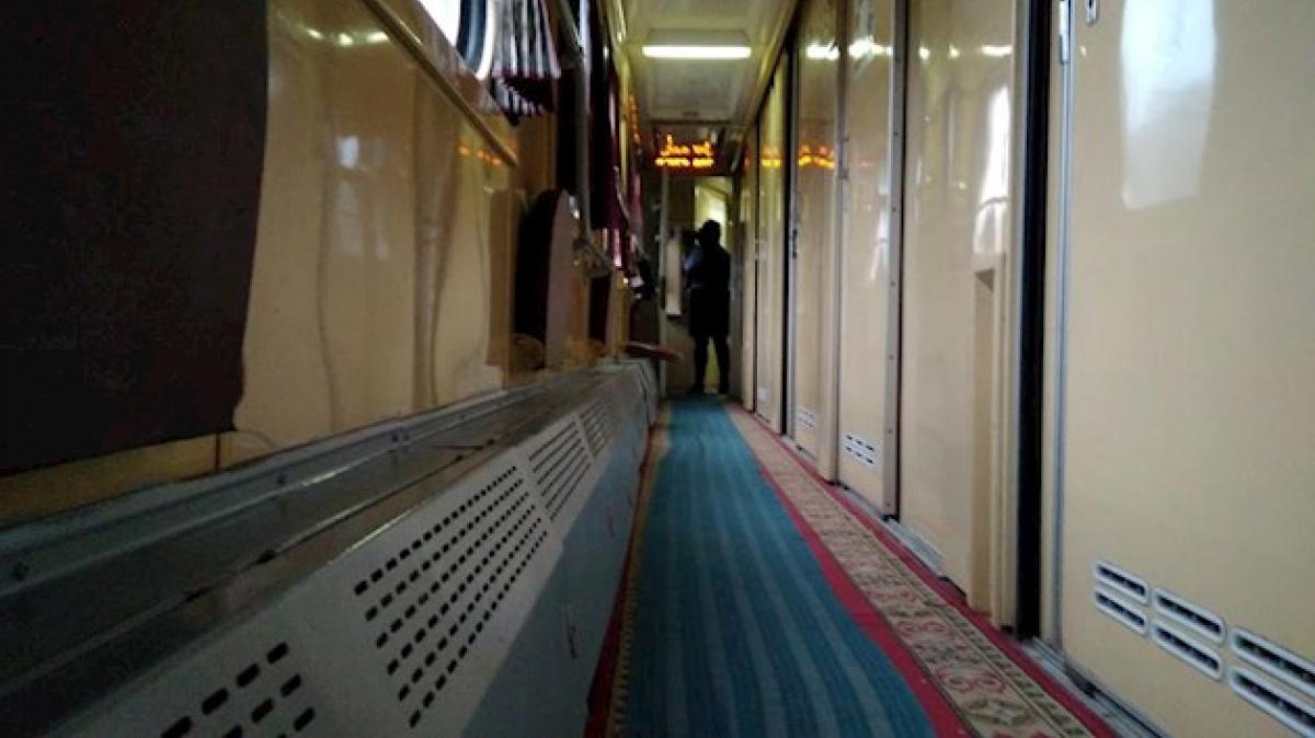 Поезд-трансформер «Киев-Запорожье» совершил свой 1-ый рейс