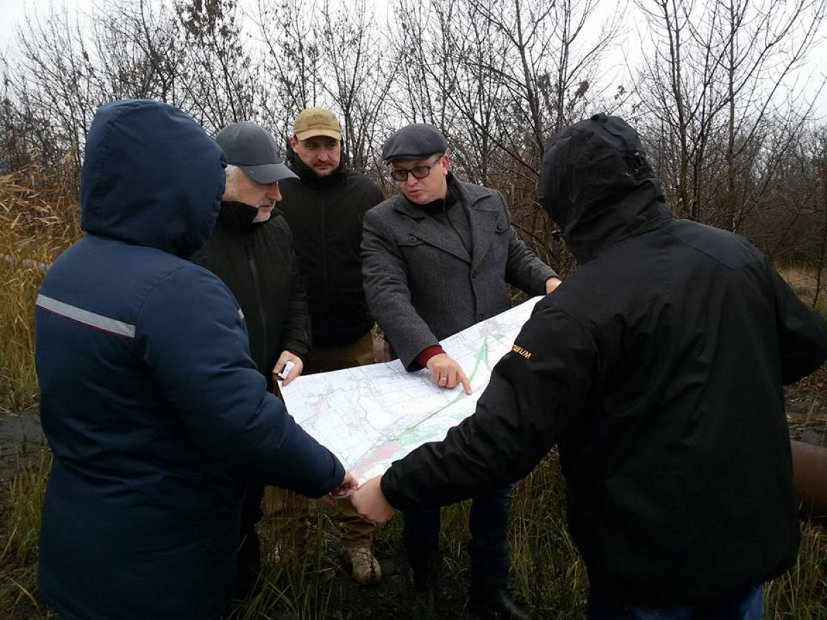 Работы над газопроводом для Авдеевки идут полным ходом,— Жебривский