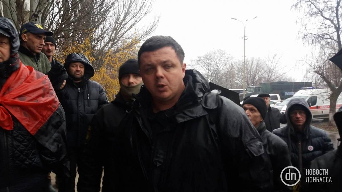 Суд отпустил из-под ареста экс-командира батальона «Донбасс» Виногродская