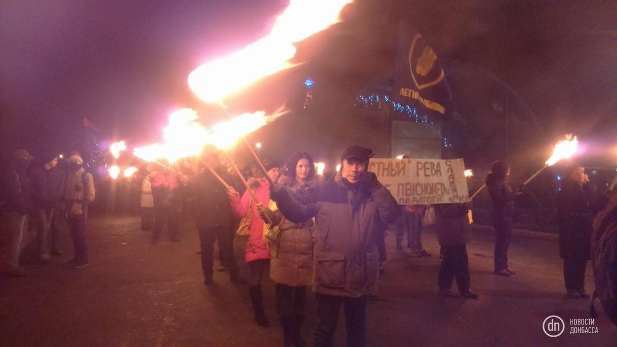 Вшествии националистов вКиеве участвует тысяча человек