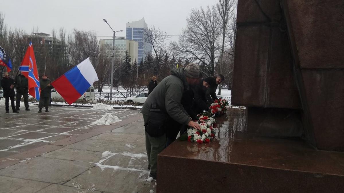 Граждан «столицы ДНР» согнали намитинг заДонецко-Криворожскую республику