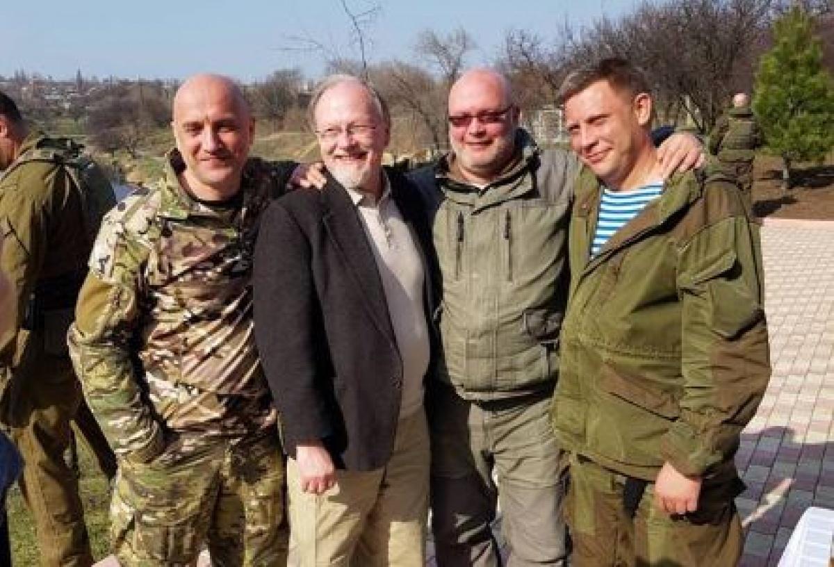 Артист из«Карточного домика» приехал в захваченный Донецк
